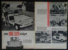 King Midget Mini Jeep 1957 vintage pictorial