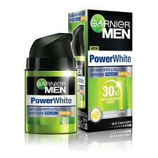 Garnier Men Powerwhite Anti Dark Spots and Pollution Skin Whitening Serum 40ml