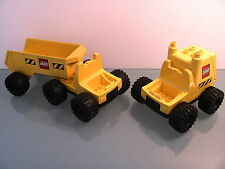 LEGO DUPLO @@ LOT DE VEHICULES DE CHANTIER @@ BUILDING TRUCK