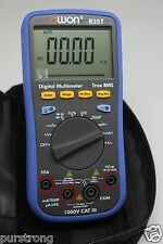 OWON large LCD B35T Multimeter Bluetooth mobile app download datalogger DMM