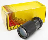 Soligor MC C/D Zoom+Macro 80-200mm 80-200 mm 1:4.5 - Canon FD OVP