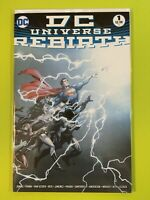 DC Universe Rebirth 2016 #1A 1st Print - Sold Out! DC NM 9.4