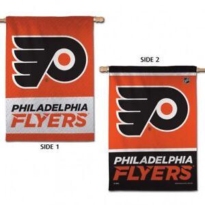 "Philadelphia Flyers Vertical Flag NHL Licensed Hockey 2-Sided 28""x40"""