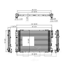 NEW TYC 13041 Aluminum Radiator Ford Escape and Mercury Mariner FO3010278