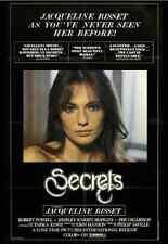 RARE Jacqueline Bisset Film: SECRETS UNCUT DVD