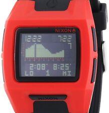 $125 Nixon Lodown II Digital Black Polyurethane Mens Watch A289209 DISPLAY ITEM