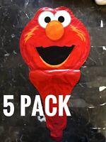 5 Sesame Street Elmo Birthday Party Balloon decor FREE SHIPPING