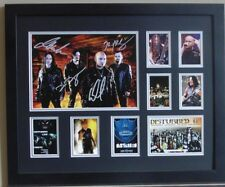 DISTURBED SIGNED LIMITED EDITION FRAMED MEMORABILIA