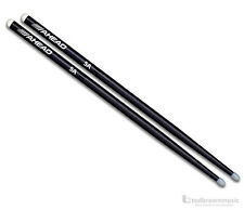 Ahead 5A Aluminum Drumsticks - Delrin Nylon Tip - One Pair Drum Sticks