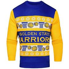 New Licensed Golden State Warriors Light-Up Ugly Christmas Sweater  Size XL  S10