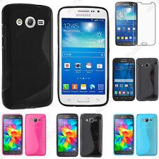 Coque Silicone S-line Samsung Galaxy Grand Prime/VE Plus Ace 4/3/1 Core 4G Trend
