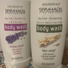 Spa Haus Body Wash Skin Relief Lot of 2 16 Oz