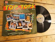 TOP DES TOPS N 4 COMPILATION LP 33T VINYLE EX COVER EX ORIGINAL 1988