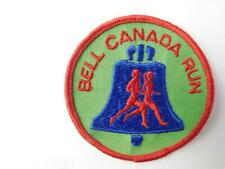 Bell Canada Telephone Run Vintage Hat Patch Uniform Badge Advertising Collector