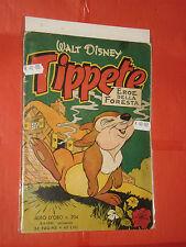 ALBO D'ORO TOPOLINO n° 204-a- DEL 1950-LIRE 40-tippete foresta-mondadori- disney