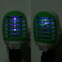 USA Plug LED Electric Mosquito Fly Pest Bug Insect Trap Zapper Killer Night Lamp