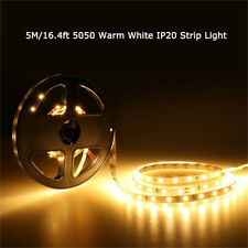 WOW - 5M Warm White LED Strip Light 300 LEDs 5050 Flexible Strip Lighting Decor