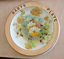 Crown Devon Fieldings Royal Devon baby's plate