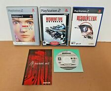 Resident Evil - CODE VERONICA X, OUTBREAK, DEAD AIM & 4 for PS2 / PlayStation 2
