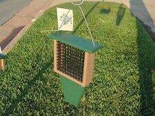 Bird Feeder Recycled Plastic Suet Feeder with Tail Prop. Go Green!  SERUBSF100HD