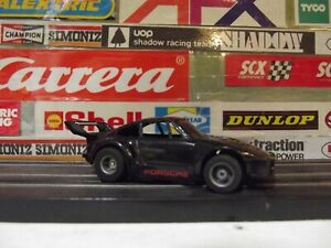 TYCO BLACK PORSCHE 935 With 440-X2 WIDE CHASSIS