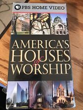 Religion Documentary America's Houses of Worship VHS Tape New PBS Home Video