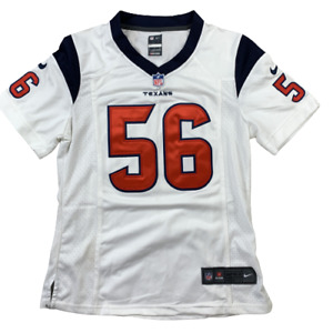 Texans Cushing 56 On The Field NFL NIKE TEXANS White Jersey Size Youth Small