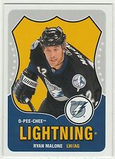 2010-11 O-Pee-Chee Retro Blank Backs #83 Ryan Malone Tampa Bay Lightning