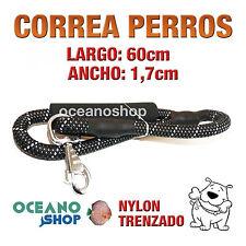 CORREA PERRO EMPUÑADURA ACOLCHADA FOAMEX GRAN COMODIDAD 60cm Lon. L10 3436