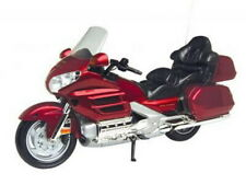 MOTOR MAX 76264 HONDA 1800cc GOLDWING model road bike red body black seat 1:6th