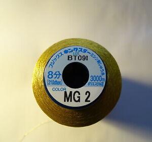 Fujix King Star Metallic Embroidery thread 1x 3000m spool  Gold (MG2)