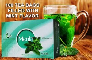 Peppermint Tea, Mint Tea Leaf 100% Natural, Detox, Weight Loss and Slimming Tea,