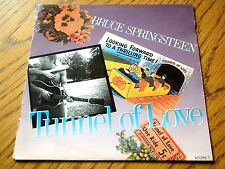 "BRUCE SPRINGSTEEN - TUNNEL OF LOVE  7"" VINYL PS"