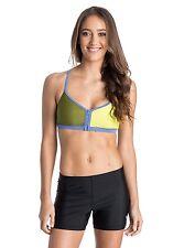 Roxy Women Medium Bikini Top Water Sports Fitness Quick Set Up