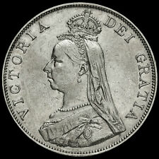 More details for 1890 queen victoria jubilee head silver double florin