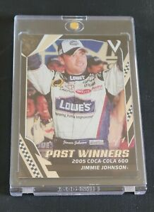 2018 Panini Victory Lane Black #92 Jimmie Johnson PW 1/1 One of One
