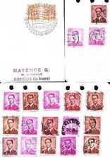 Posten- & Lots-Briefmarken aus Belgien ab 1945