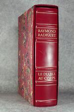 RADIGUET. TAILHARDAT. LE DIABLE AU CORPS, SUIVI DU BAL DU COMTE D'ORGEL. 1996.