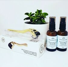 100 Pure Hyaluronic Acid Serum With Vitamin B5 and Derma Roller Skin Needling