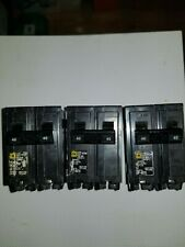 Square D Hom240 40 A Miniature Circuit Breaker. This auction is for 3 breakers