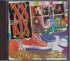 88 Kix On - Various Artists - CD (816 762-2 Polystar 1988 Australia)