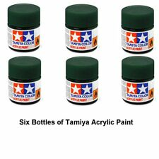 Tamiya 81770 Acrylic Mini XF70 Dark Green 2 10 ml Bottle Acrylic Modelling Paint