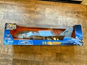 BBI Elite Force US Navy F/A-18C HORNET 1:18 Scale box 21267 blue box toys jet