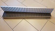 Gitterrost aus Edelstahl 150x1000 MW30/10 Tragstab 20/2 mm,Rinnenrost