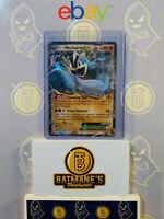 Machamp EX XY108 NM MINT Black Star Promo Full Art Ultra Rare Holo Pokemon Card