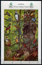 Nicaragua 1992 Tiere Vögel Schmetterlinge Schlange Wildkatzen 3167-3182 MNH