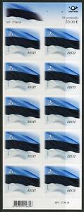 Estonia 2018 MNH Estonian Flag Reprint R/P 10v S/A M/S Flags Natl Emblems Stamps