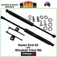 Drivetech 4x4 Bonnet Hood Gas Strut Kit fit Mitsubishi Triton MQ 15-On DT-BS001