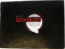 WOLSELEY 12 Original Car Sales Brochure Nov 1938