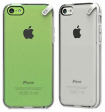 For Apple iPhone 5 5s 5c SE Phone Case Cover Slim Clear White Hybrid Hard Rubber